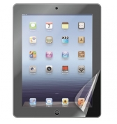 Set de 2 films protecteur glossy antitraces pour Nouvel iPad
