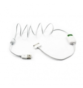 Muvit Switch USB Cable pour iPhone, iPad &amp; iPod, Blanc