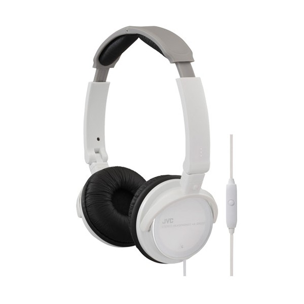 casque blanc jvc avec micro et telecommande coquediscount. Black Bedroom Furniture Sets. Home Design Ideas
