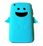 Coque silicone bleu ciel ange pour Iphone 3G 3GS