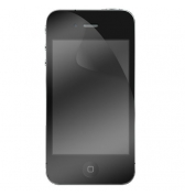 Lot de 2 protections ecran 1 transparent et 1 privee pour iPhone 4/4S