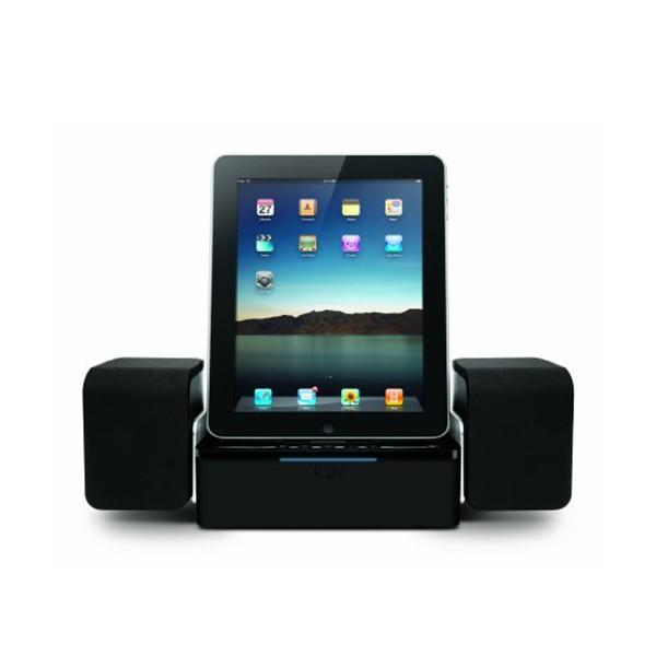 Iluv audio cube dock enceintes stereo pour ipod ipad iphone coquediscount - Enceinte iphone ipad ...