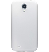 Coque semi-rigide blanche pour Samsung Galaxy S4 I9500