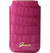 Etui universel Taille L finition croco. Rose UNIVERSEL