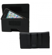 Etui Muvit vog horizontal cuir avec passant ceinture pour iPhone