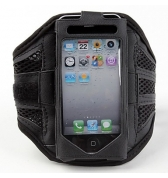 Brassard de Sports Ventil&eacute; pour iPhone 5 noir