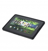 Coque skin noire translucide BlackBerry Soft Shell pour BlackBerry Playbook