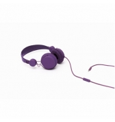 Casque coloud color violet avec micro pour iphone 4 iPhone 3g 3gs Blackberry Samsung