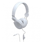 Casque Delta Colorblock blanc Jack 3.5 mm