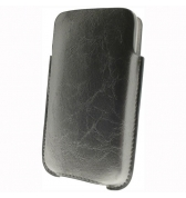 Etui vertical gris argent iphone 3g 3gs