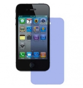 Film protecteur ecran transparent bleu iPhone 4/4S