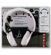 Casque Audio HI FI blanc Dolce Vita Jack 3.5 mm