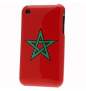 Coque Drapeau Maroc Iphone 3g 3gs version 2