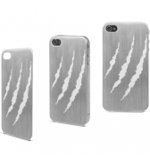 Muvit plaque arriere metal griffure et screen pour iphone 4 / 4S