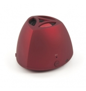 Muvit enceinte rouge Bluetooth avec batterie rechargeable