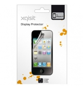 Lot de 3 films protection écran Xqisit pour iPhone 4/4S
